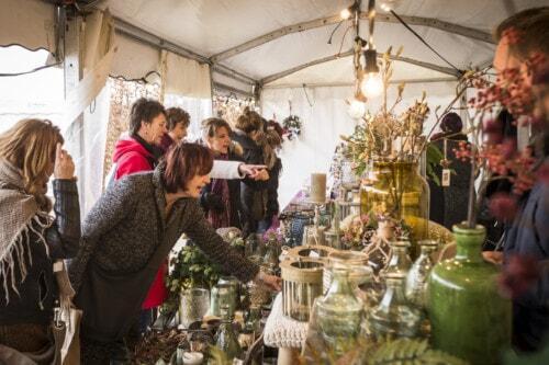 Kerstmarkt op slot Assumburg te Heemskerk
